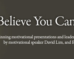 Believe You Can Achieve!